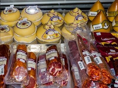 fromages et charcuteries espagnols